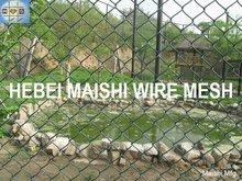 Diamon mesh fence chain linking fabrics