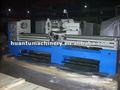 Horizontal máquina de torno cnc operador de máquinas, Torneamento cnc controlador, Terra máquina de perfuração