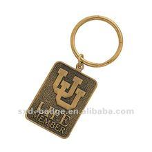 customize copper key chain
