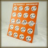 display stand display card printing service