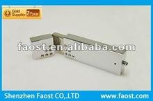 2012 high quality crystal metal with logo flip usb flash drive