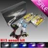 H13 new Hi/Lo Dual beam xenon hid bulb (Xenon L+Halogen H)