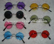 Hippie John ROUND Peace Glasses fashion Sunglasses ,John Lennon the Beatles Style hipp glass