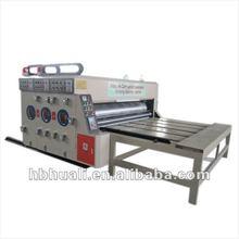 YFQ corrugated cardboard semi-automatic printing slotting die cutting machine