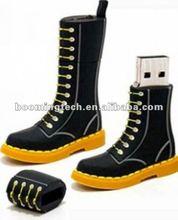 Boots shape 16gb Metal USB Flash Disk