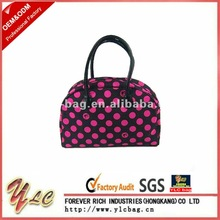 2012 HOT SALE PVC hand bags leather with well-sewn(H-0713)
