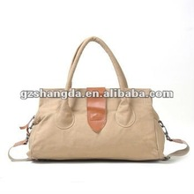 2012 Beige fur suede ladies handbags, tote hand bags