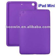 For ipad mini purple Gel silicon Case Rubber Skin Tpu Cover