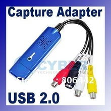 4 Channel usb 2.0 dvr Video Audio Capture Adapter