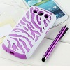 two colors hybrid silicone case for iphone 4s 4g