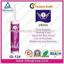 Anti-fungus Silicone Sealants,mildew resistant silicone sealant