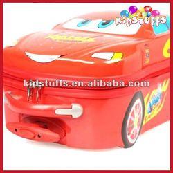 Kids Interesting Car Wheeled Luggage Bag Draw-Bar Box