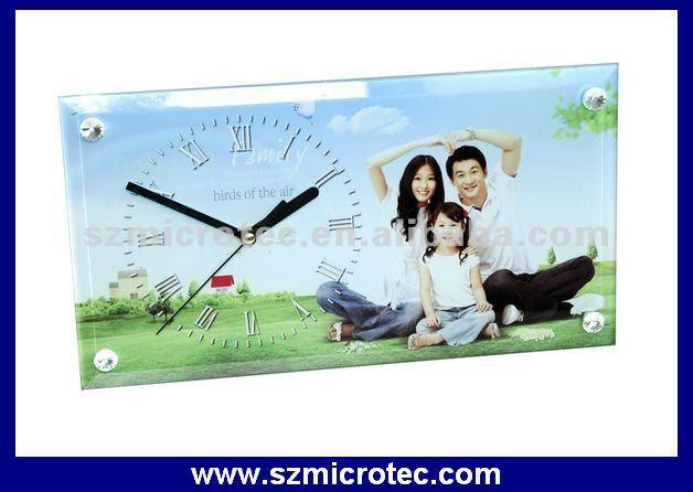 Sublimación cristal marco de reloj - MT-SG28