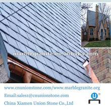 Excellent Building Decoration Black Roofing Slate Tile