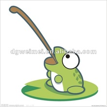 Frog Style For Kids Temporary Tattoo