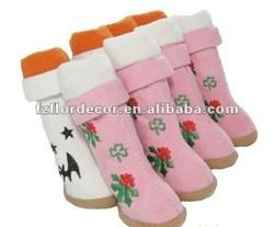 Pet Products of Pet Chirstmas Warm Non-slip Snow Boots CXZ2-15