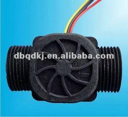 """G3/4"""" Flow Water Counter Sensor For Industry Agriculture Irrigation 3.5V - 24V DC"""