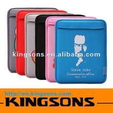 Guangzhou factory price! high-grade quality neoprene sleeve bag for ipad 2