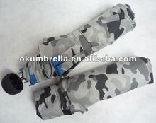 2012 fashion folding camouflage umbrella