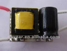 High reliability 3W led flashlight driver
