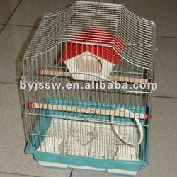 metal wire bird house