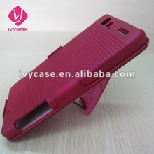 rubberized shell holster combo case for motorola droid razr xt910 xt912