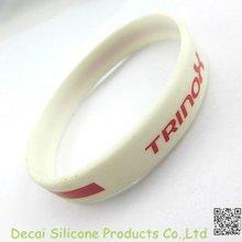 2012 imprinted cheap silicon rubber bracelets
