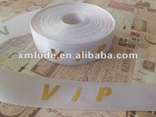 2012 hot sales white Polyester ribbon