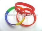 Fashion christian silicone bracelets