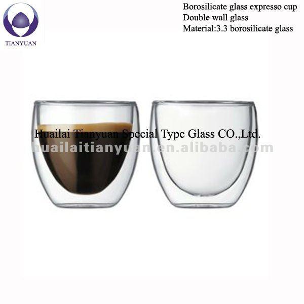 R sistant la chaleur verre borosilicate expresso tasses - Ciment resistant a la chaleur ...