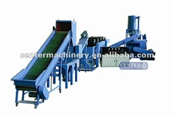 PE,PP plastic film recycling line