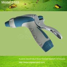 GreenYard 5103 PLASTIC HIGH PRESSURE ,GARDEN AND HOME USINGADJUSTABLE REAR TRIGGER MEMORY TIP NOZZLE
