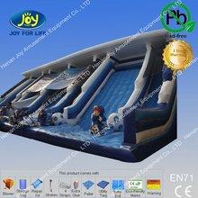 Popular toboggan gym inflatable super slide