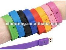 Fashion bracelet usb flash drive