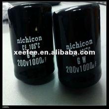 Nichicon Capacitor 0.1uf 0.15uf 0.22uf 0.33uf 0.47uf 0.68uf 1uf 1.5uf 2.2uf 3.3uf 4.7uf 5.6uf 6.8uf 8.2uf 10uf 12uf 15uf