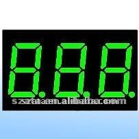 7segment 3 digits LED digital display screen