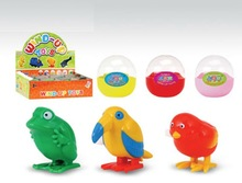 2012 hot selling and cheap wind up bird, frog and chicken / wind up toys / promotinal gift