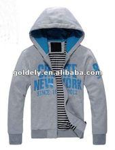 2012 hot sale full zipper hoody jacket for men women