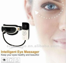 pangao eye facial massager with music heating air pressure vibrating FDA CE from manufacturer
