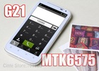 """2012 New arrival G21 3G Android4.0 Smartphone: 4.3"""" Screen, 1.0Ghz MTK6575, MTK 6575, 6575, 8.0MP, + 4GB card free gifts"""