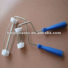 stainless steel paint roller plastic handle