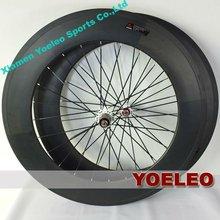 Hot Sale ruedas de carbono para bicicleta de carretera clincher 88mm