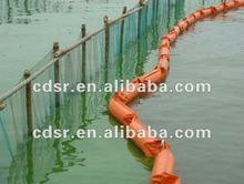 PVC solid float oil boom for oil spill