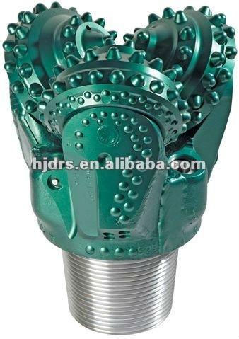 Broca tricone 8 1/2 botão perfuratriz para a água do poço de petróleo de perfuração cid 617 215.9mm direcional ferramenta de perfuração