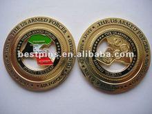 Rotating casino poker coin