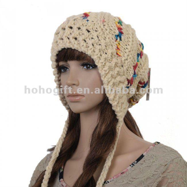 Gorros para mujer tejidos a crochet - Imagui