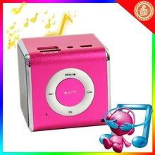 mini portable speaker usb disk sd/mmc music player