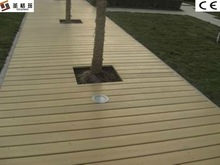 2012 new engineered wood plastic composite flooring