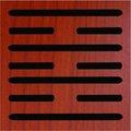 acanalado de madera barrera acústica tablas