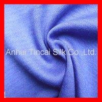 Knitted Merino Wool Interlock Fabric